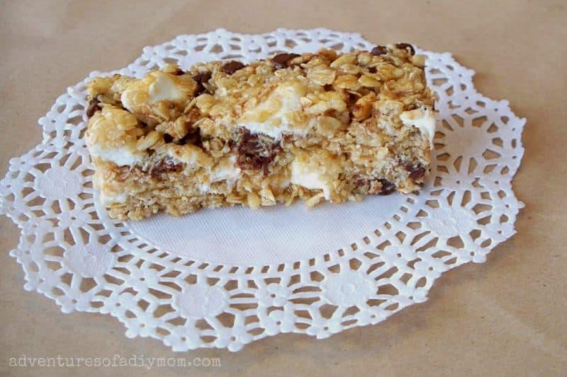 Homemade No Bake Granola Bars from Adventures of a DIY Mom