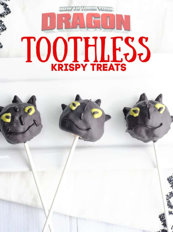 Toothless Treats How to Train Your Dragon Pops f