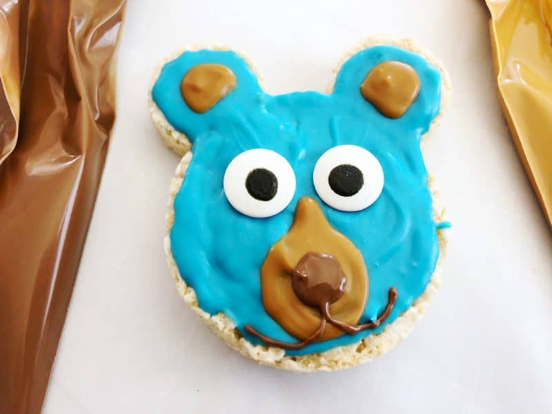 Wonder Park Boomer Bear Krispy Treats a