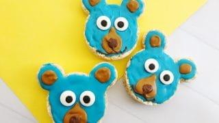 Boomer Bear Krispy Treats