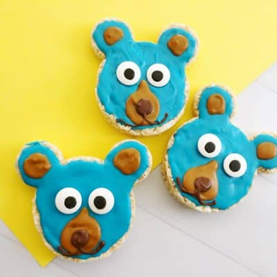Boomer Bear Krispy Treats from Wonder Park Movie