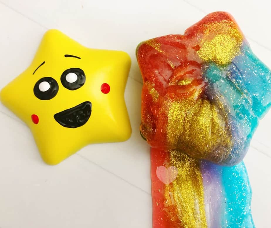 Barfing Glitter Slime Craft inspired by LEG