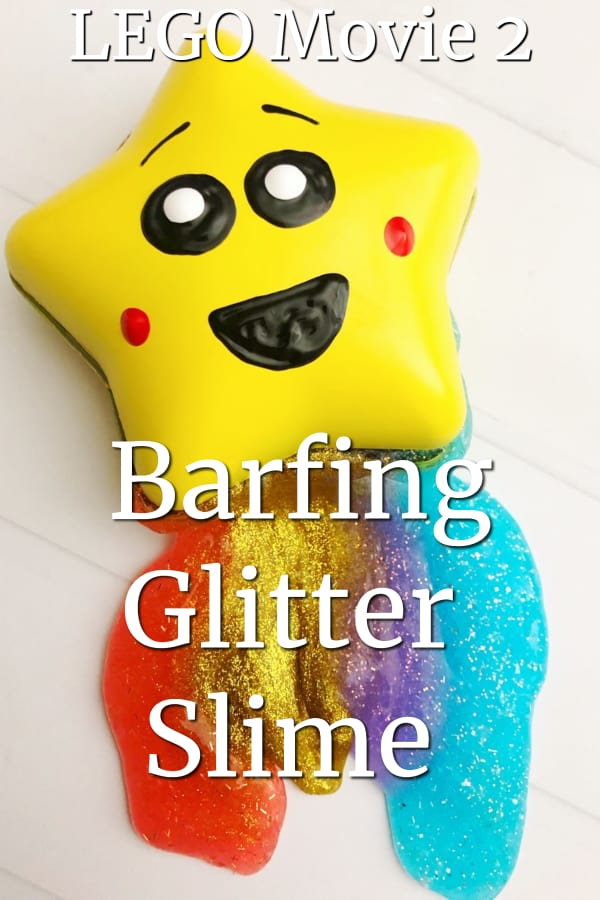 LEGO Movie 2 Barfing Glitter Slime Craft