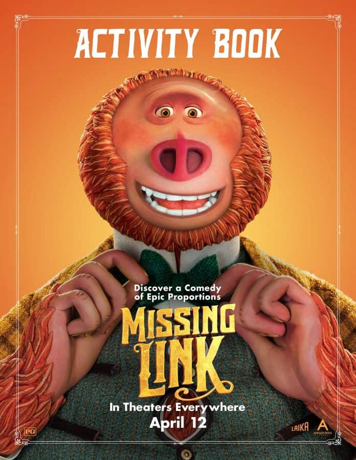 Missing Link Activity Book Image
