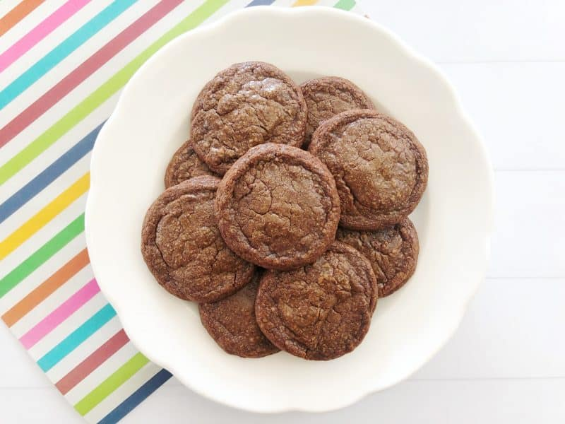 Mister Link Brownie Cookies Missing Link cookies