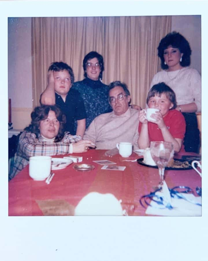 80s family Polaroid photo moms get in the picture