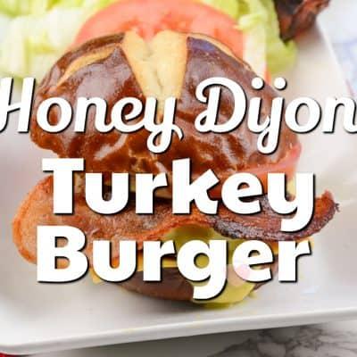 Honey Dijon Turkey Burger