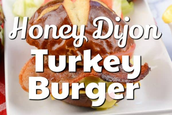 Honey Dijon Turkey Burger Recipe