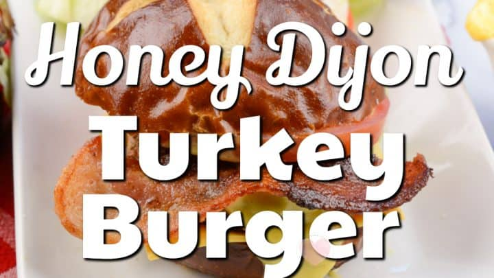 Honey Dijon Turkey Burger