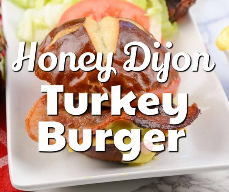 Honey Dijon Turkey Burger Recipe
