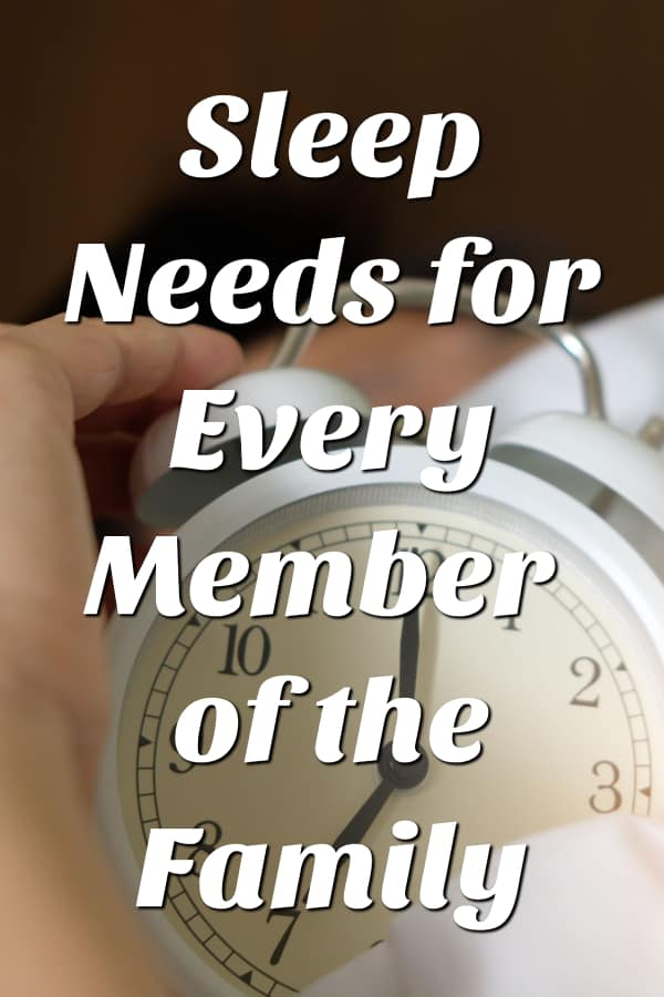 Sleep Needs for Every Member of the Family from This Mama Loves