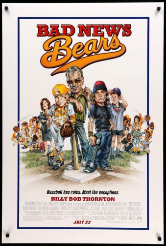 bad news bears movie art Top 10 Family Movies for Summer