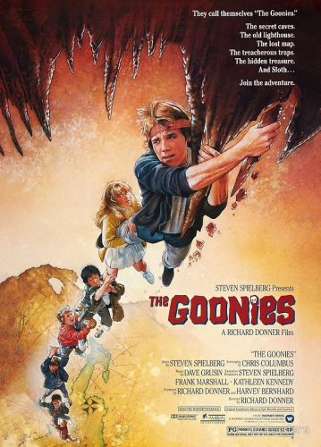 goonies movie art Top 10 Family Movies for Summer