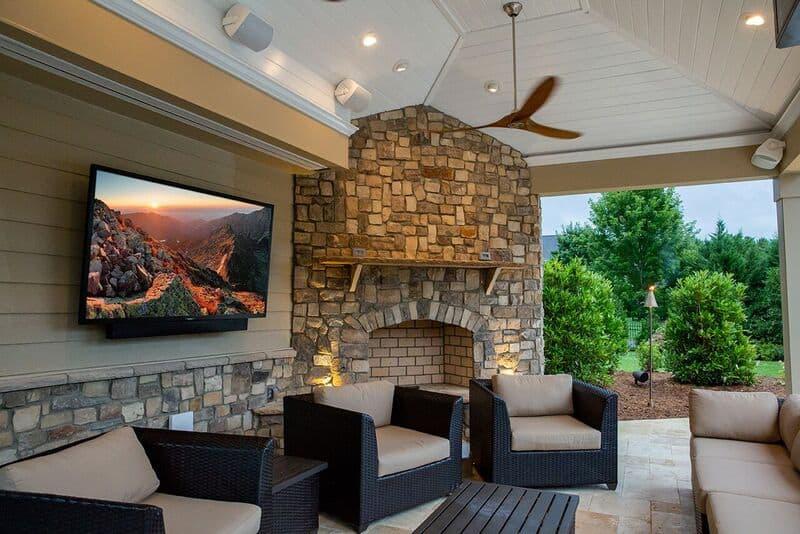 outdoor 4k hd tv