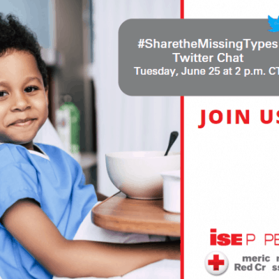 #SharetheMissingTypes Twitter Chat
