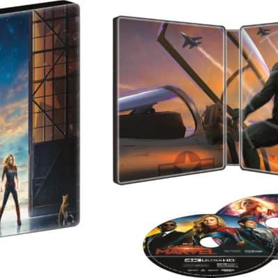 Captain Marvel Activities + Steelbook Edition Available Now