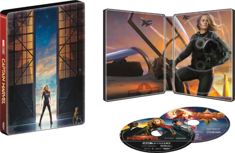 Captain Marvel Steelbook available now