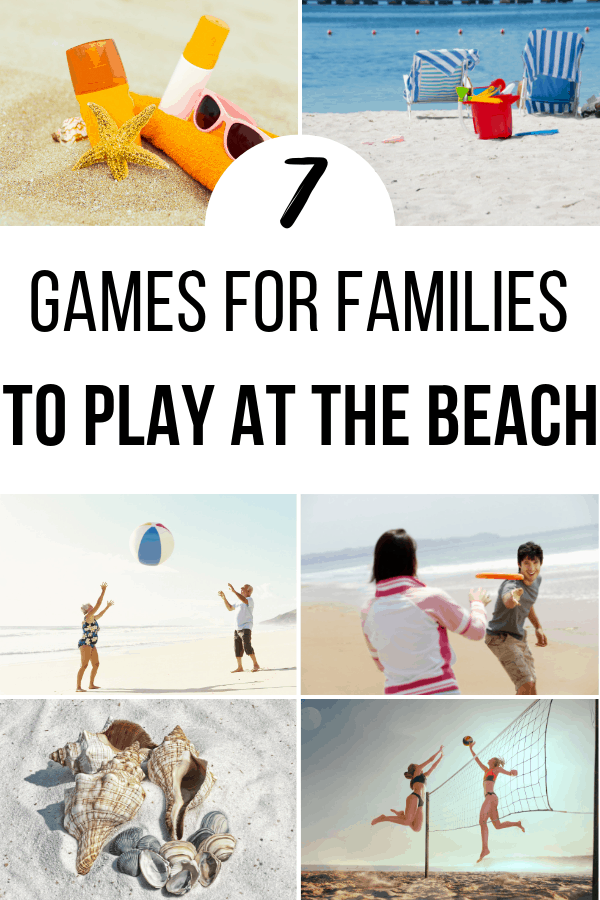 7 games Your Family Can Play at the Beach