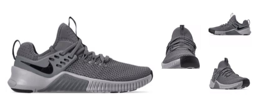 mens grey nike sneakers