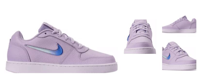 purple women's nike skate