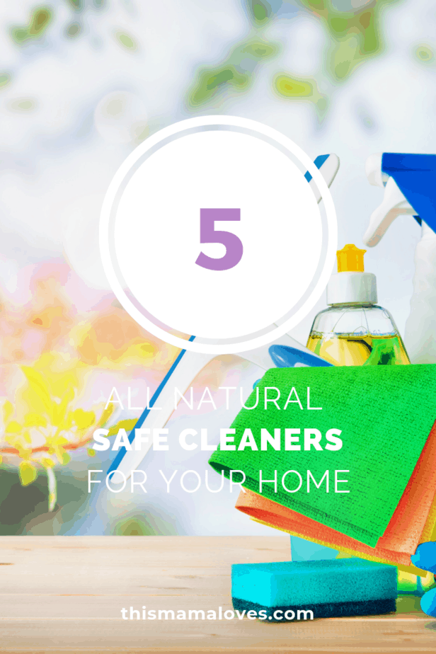 5 Recipes for All-Natural, Safe Cleaners for the Whole House