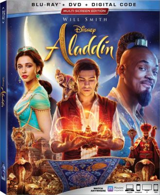 live action aladdin movie box art