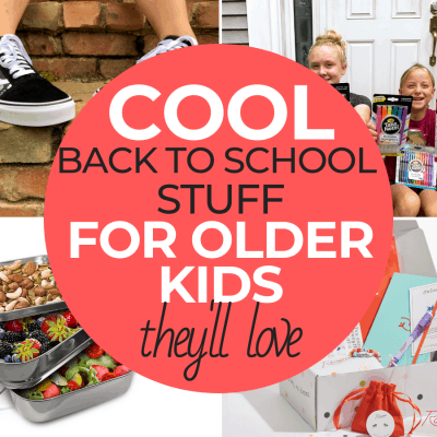 Cool Back to School Stuff for Older Kids
