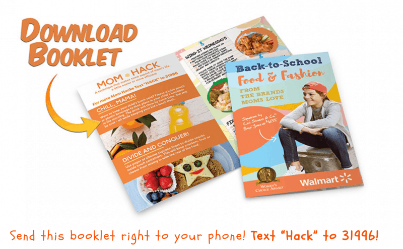 mom fashion and food book for back to school