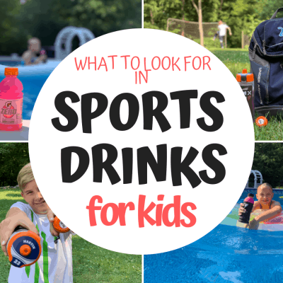 What to Look for in a Sports Drink for Kids