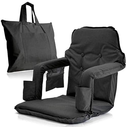 foldable stadium chairs with carry bag