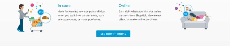 instore shopping rewards shopkick