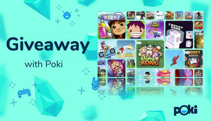 poki giveaway 100 amazon gift card