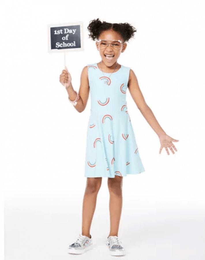 rainbow dress for little kids