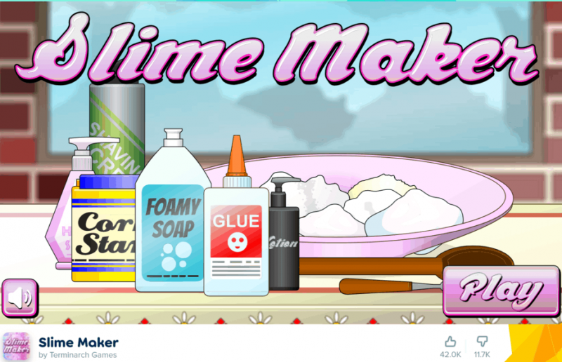 slime maker game poki playground