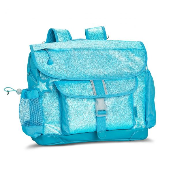 turquoise sparkle backpack for tweens
