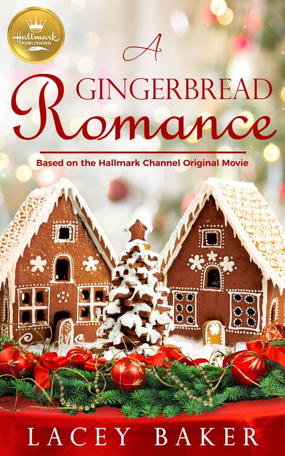 A Gingerbread Romance christmas romance book cover art
