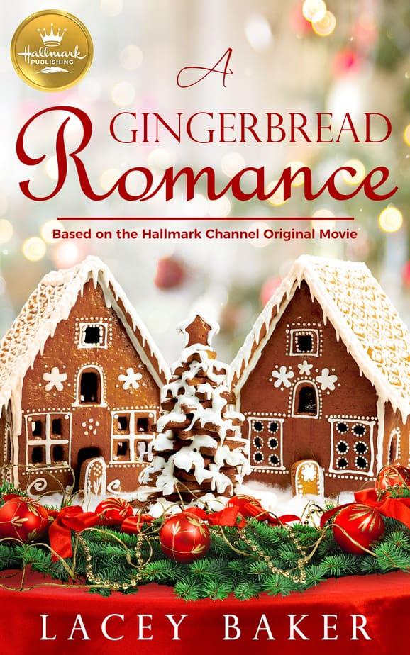 A Gingerbread Romance christmas romance book cover art