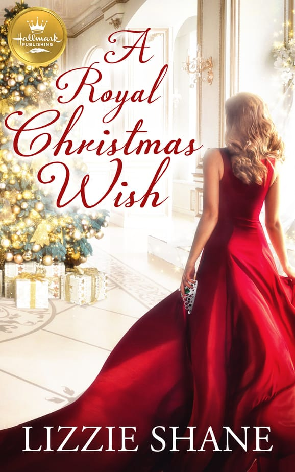a royal christmas wish by lizzie shane book cover art
