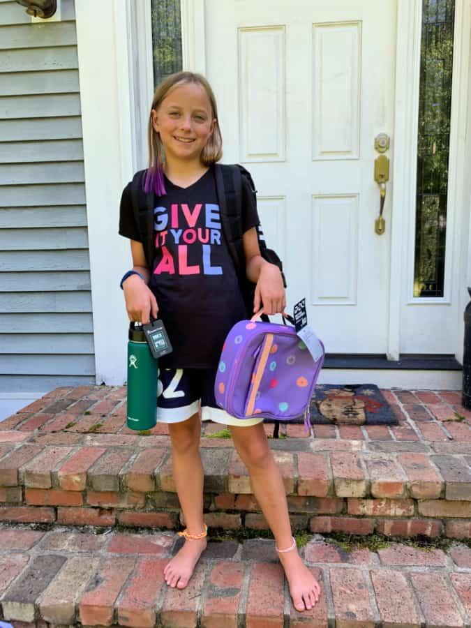 DSG dri fit shirt girls soccer g
