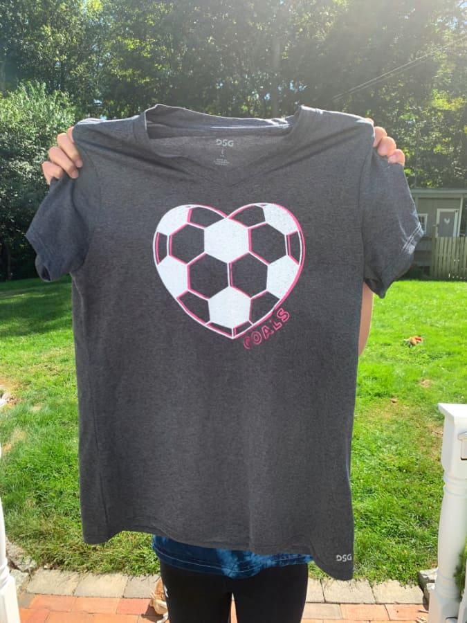 DSG girls soccer shirt