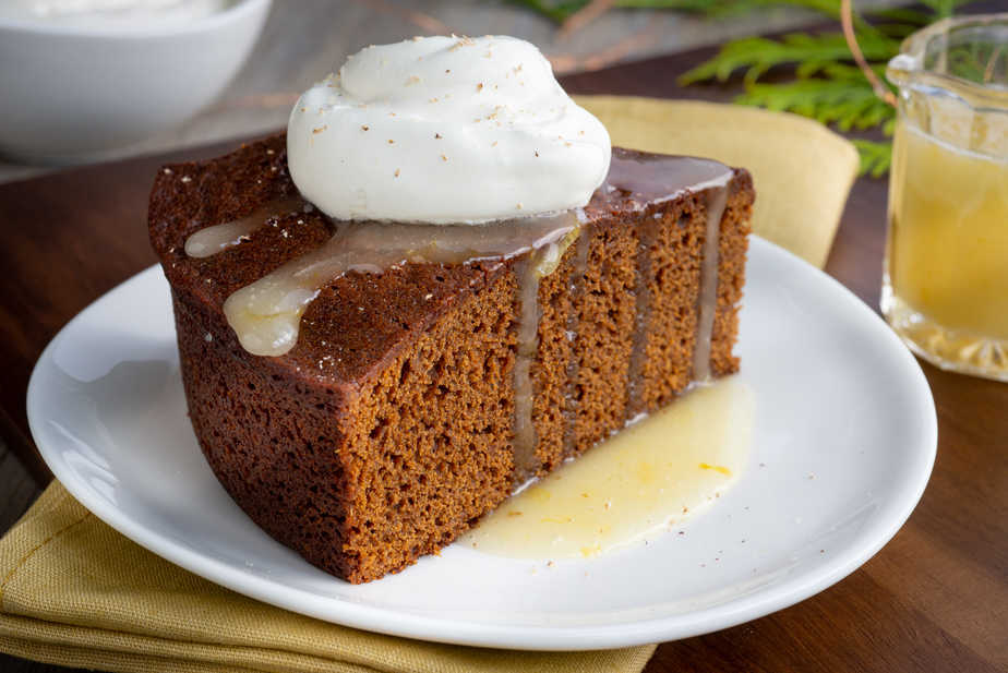 Gingerbread Cake from A Gingerbread Romance book