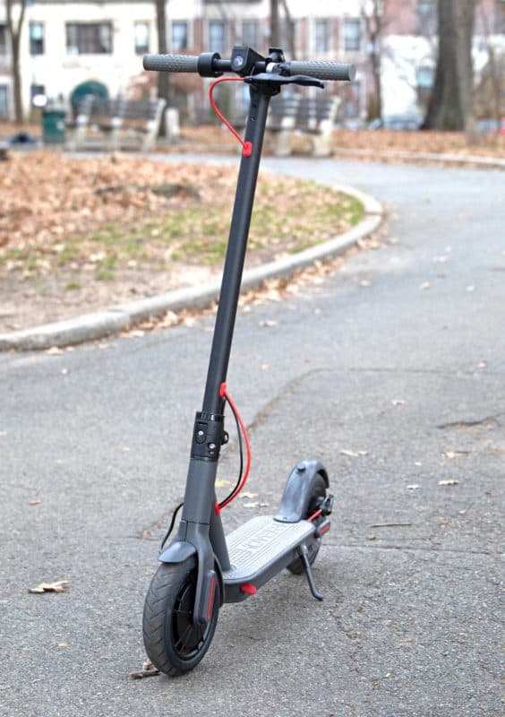 hover power scooter front