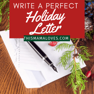 How To Write A Perfect Holiday Letter