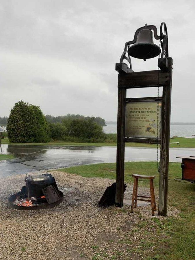 rowleys bay fish boil sign