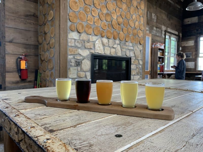 door county brewing flights