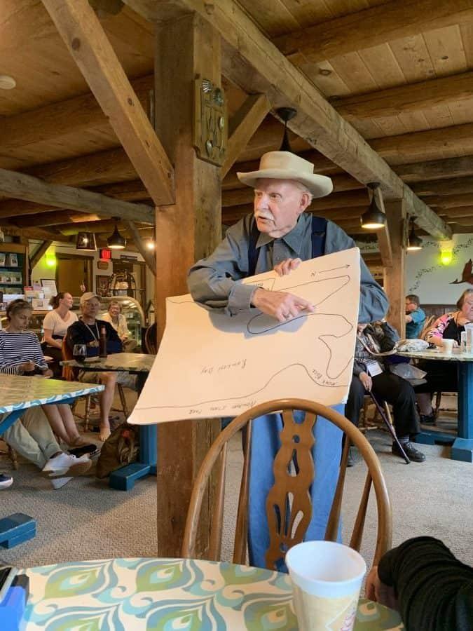 charlie storyteller rowleys bay resort fish boil