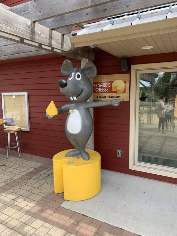 renards cheese door county wi