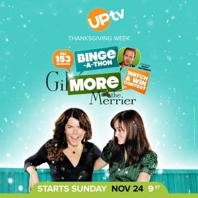 Gilmore the Merrier 153 episodes of Gilmore Girls on uptv