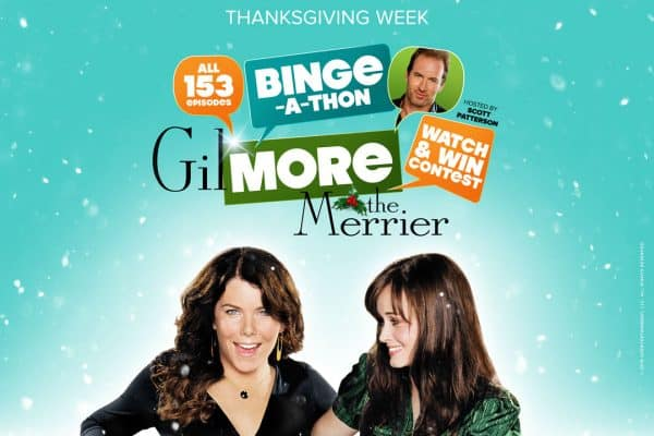Gilmore the Merrier 153 episodes of Gilmore Girls on uptv