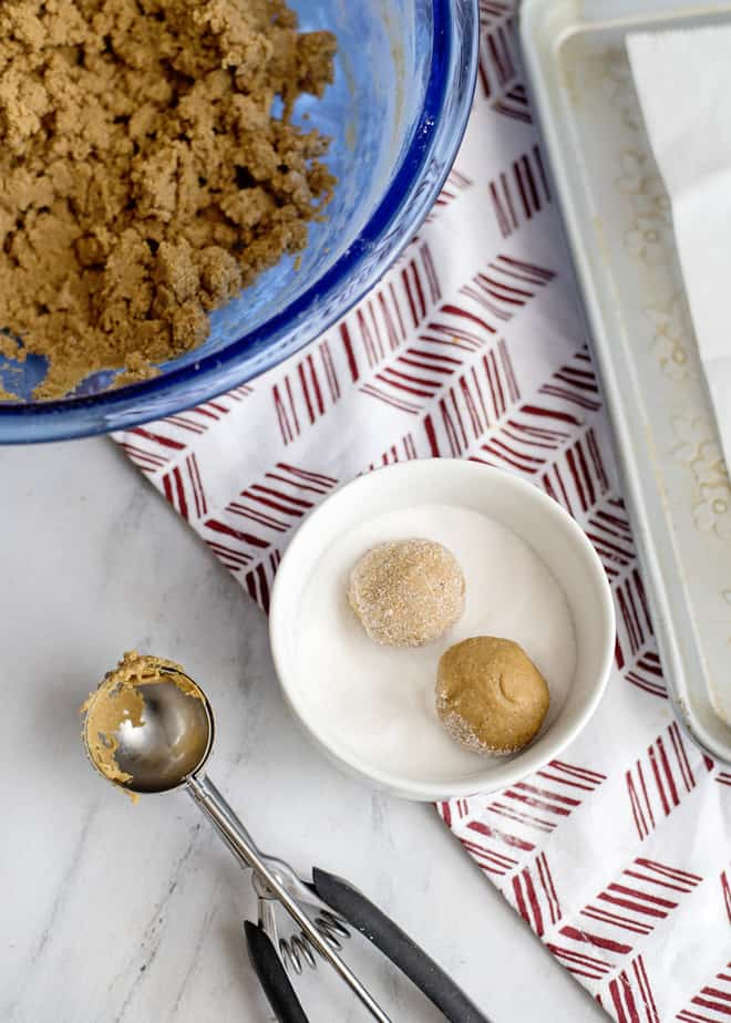 Iced Molasses cookie